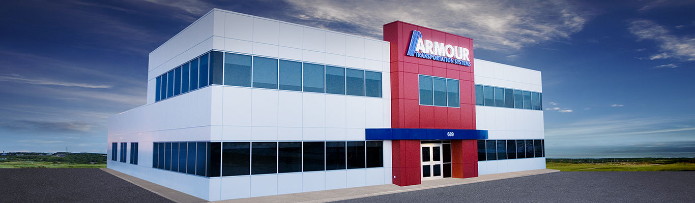 Armour Transportation head office in Moncton, New Brunswick
