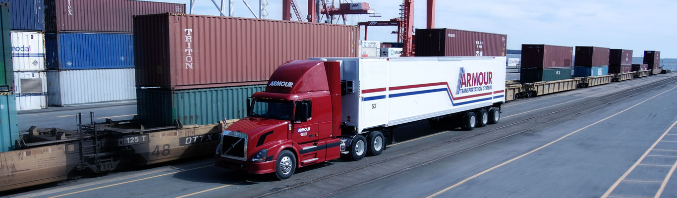 Armour Transportation intermodal transport