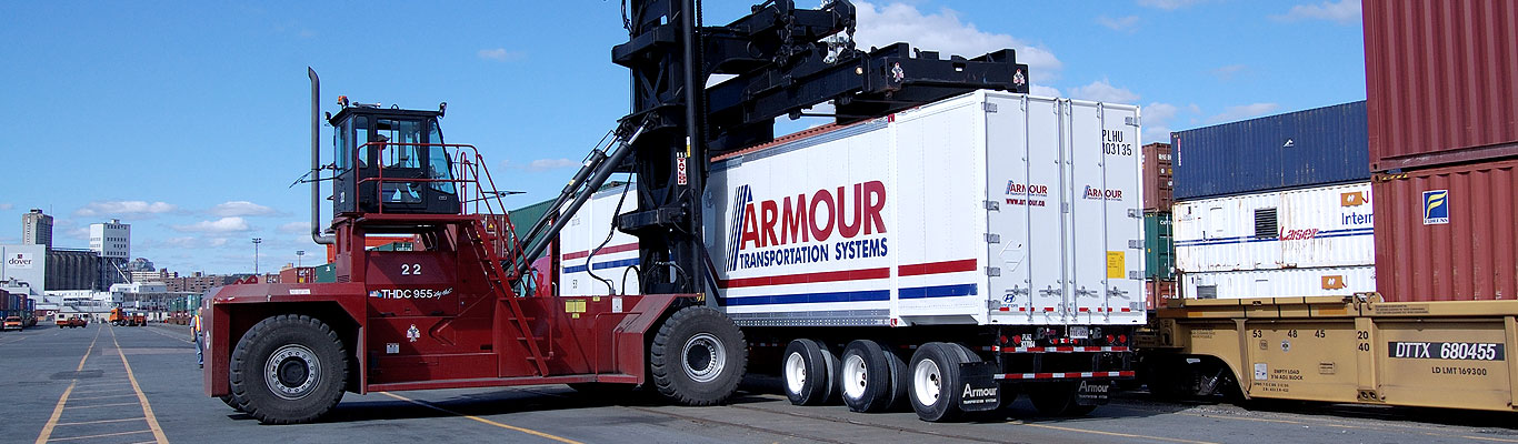 Armour Transportation container transport