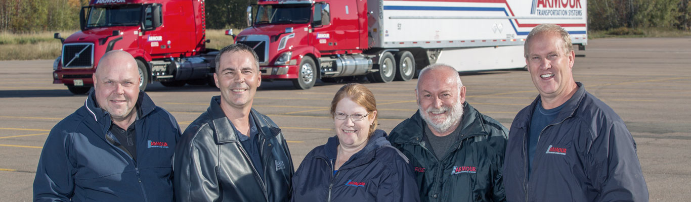 Armour Transportation drivers