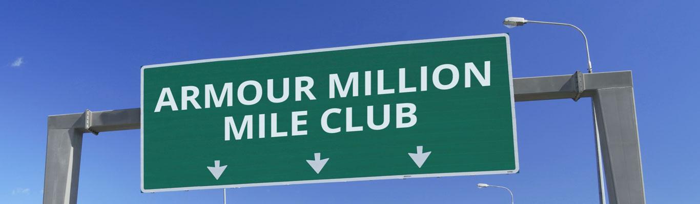 Armour Transportation million mile club