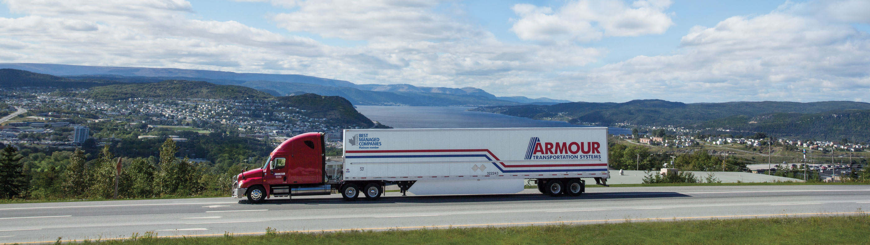 Armour Transportation transport truck