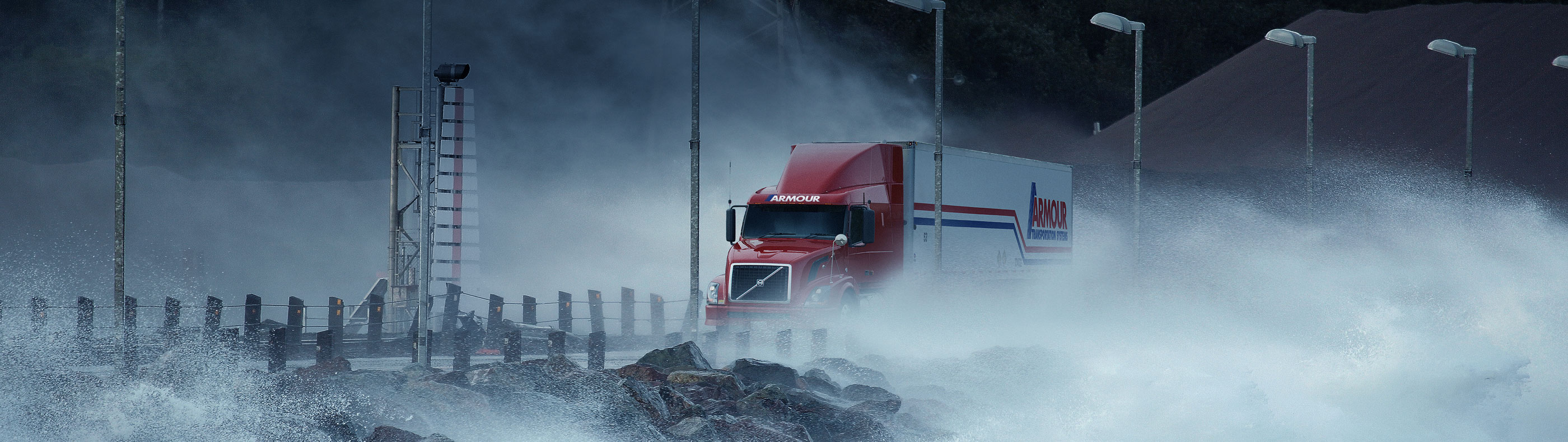 Armour Transportation truck